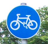 Cycle Lane Sign