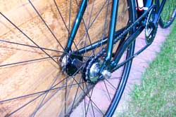 Fixed wheel